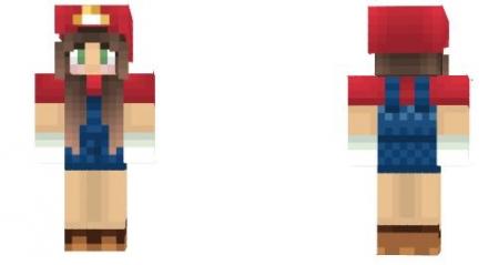 Скин Mario Girl 1.2.0, 1.2.5