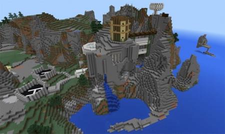Карта Epic Cliffs Base 1.2.0, 1.2.5