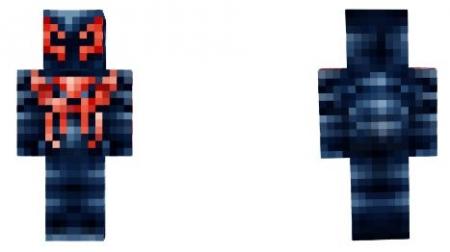 Скин Spider Man 2099 1.2.0, 1.2.6