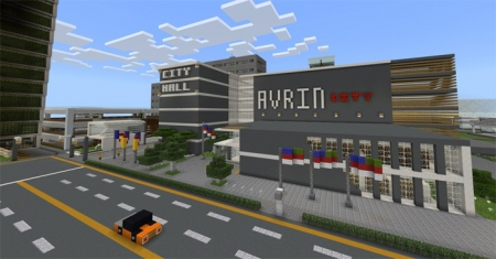 Карта Avrin City (The Tomorrowland, Republic of Avrin) 1.2.0, 1.2.6