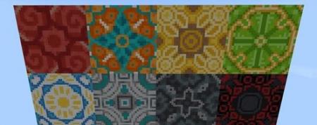 Текстур пак Терракотовые блоки 1.2.0, 1.2.6