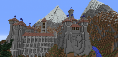 Карта Mountain ish castle 1.12.2