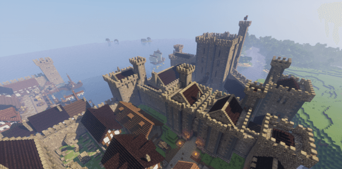 Карта Medieval Castle and Town 1.12.2