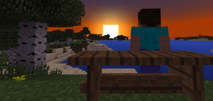 Текстуры Wooden Benches (Beds) Resource Pack 1.2.10