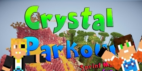 Карта Crystal Parkour 1.12.2