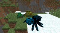 Мод Much More Spiders Reborn 1.12