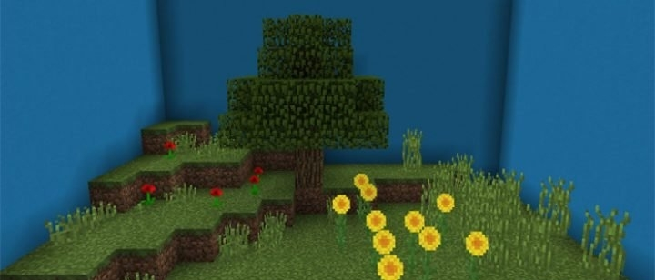 Карта Find The Button: Biome Edition [Мини-игра] 1.2.0, 1.2.20