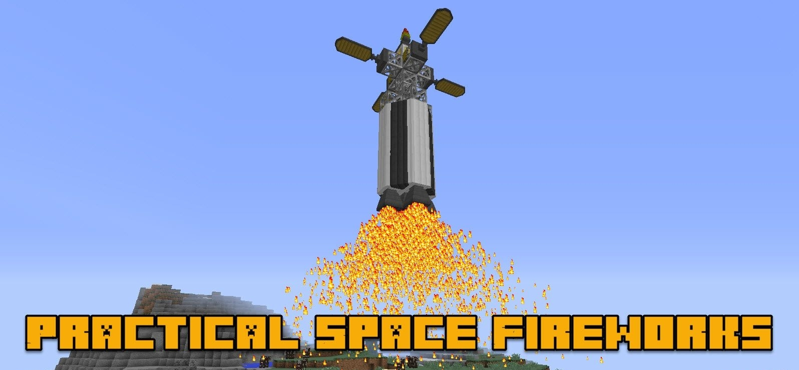 Мод Practical Space Fireworks 1.12