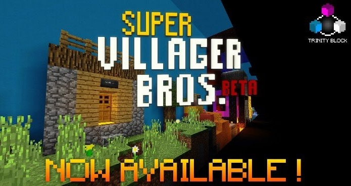 Карта Super Villager Bros. [Мини-игра] 1.4.0, 1.4.1