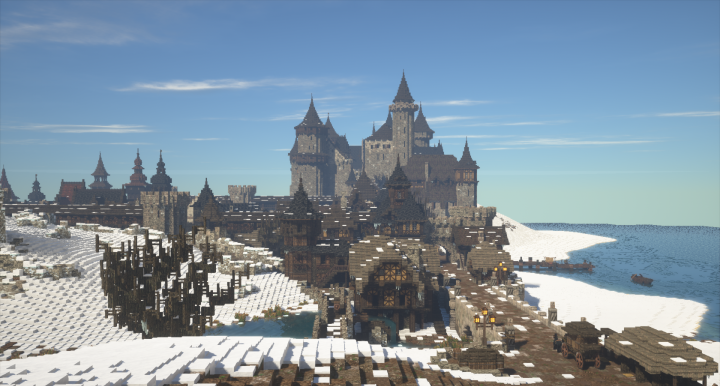 Карта Dark Medieval City & Vampire Castle 1.12, 1.12.2