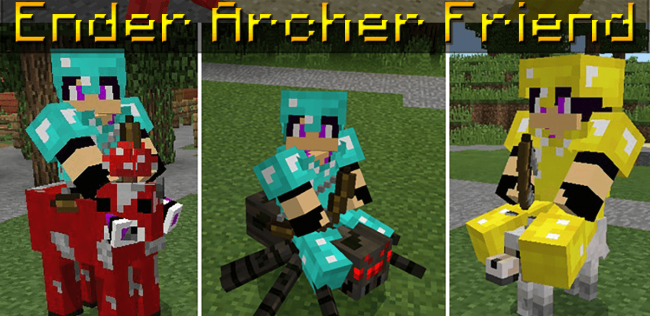 Мод Ender Archer Friend 1.4.0, 1.4.2