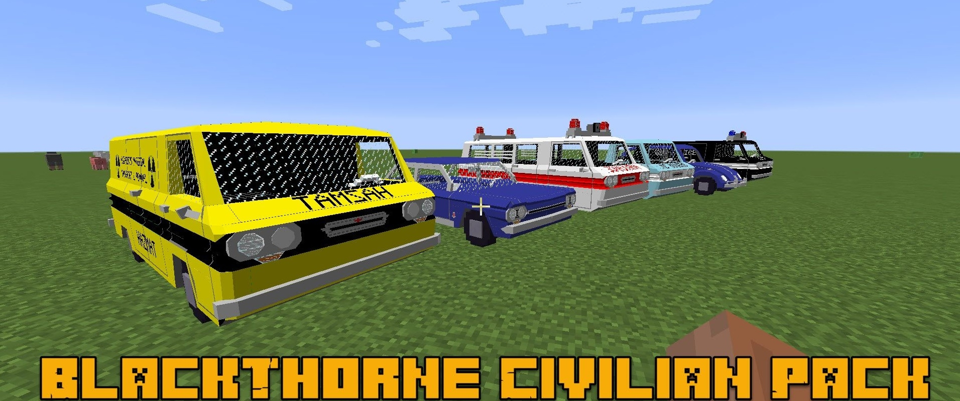Мод BlackThorne Civilian Pack 1.12