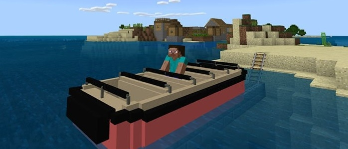 Мод Disney Attraction Minecart 1.4
