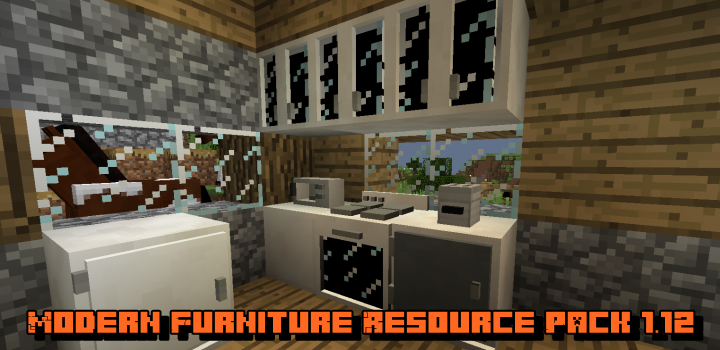 Текстуры Modern Furniture Resource Pack 1.12
