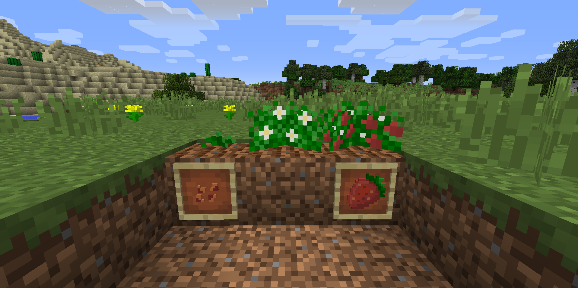 Мод Pam's Simply Strawberries 1.12