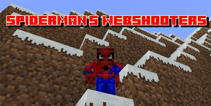 Мод Spiderman's Webshooters 1.4