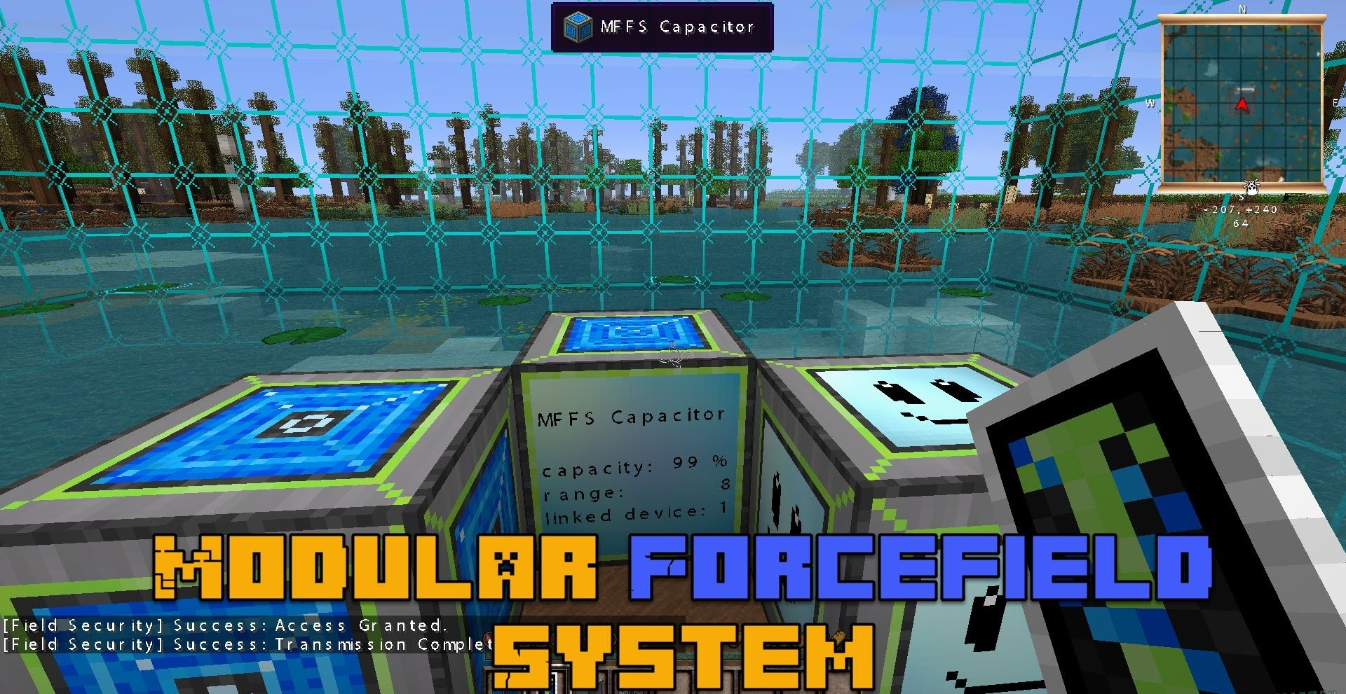 Мод Modular Force Field System 1.12