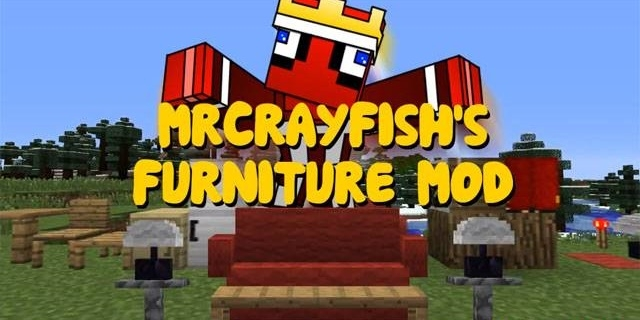 Мод Mr. CrayFish's Furniture Mod 1.12