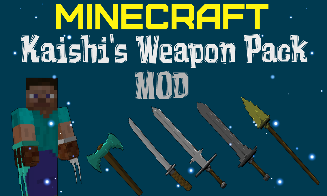 Мод Kaishi's Weapon Pack 1.12