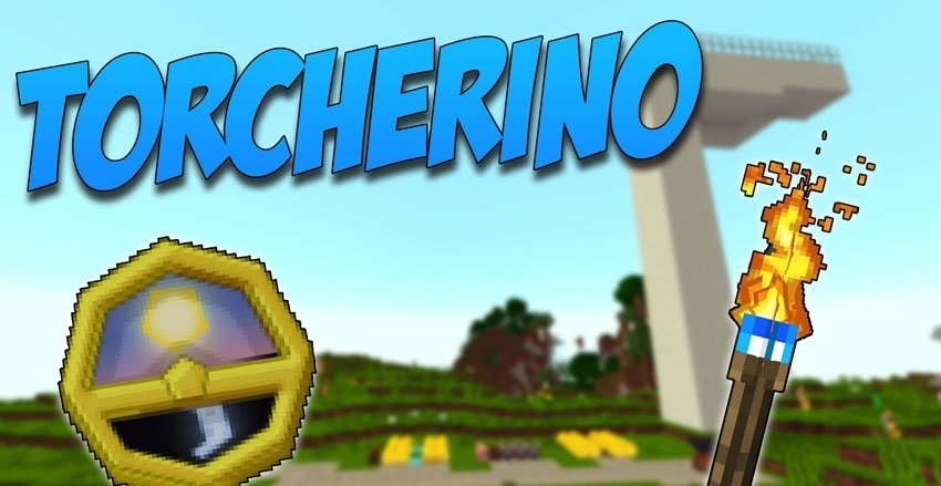 Мод Torcherino - читерные факелы 1.12