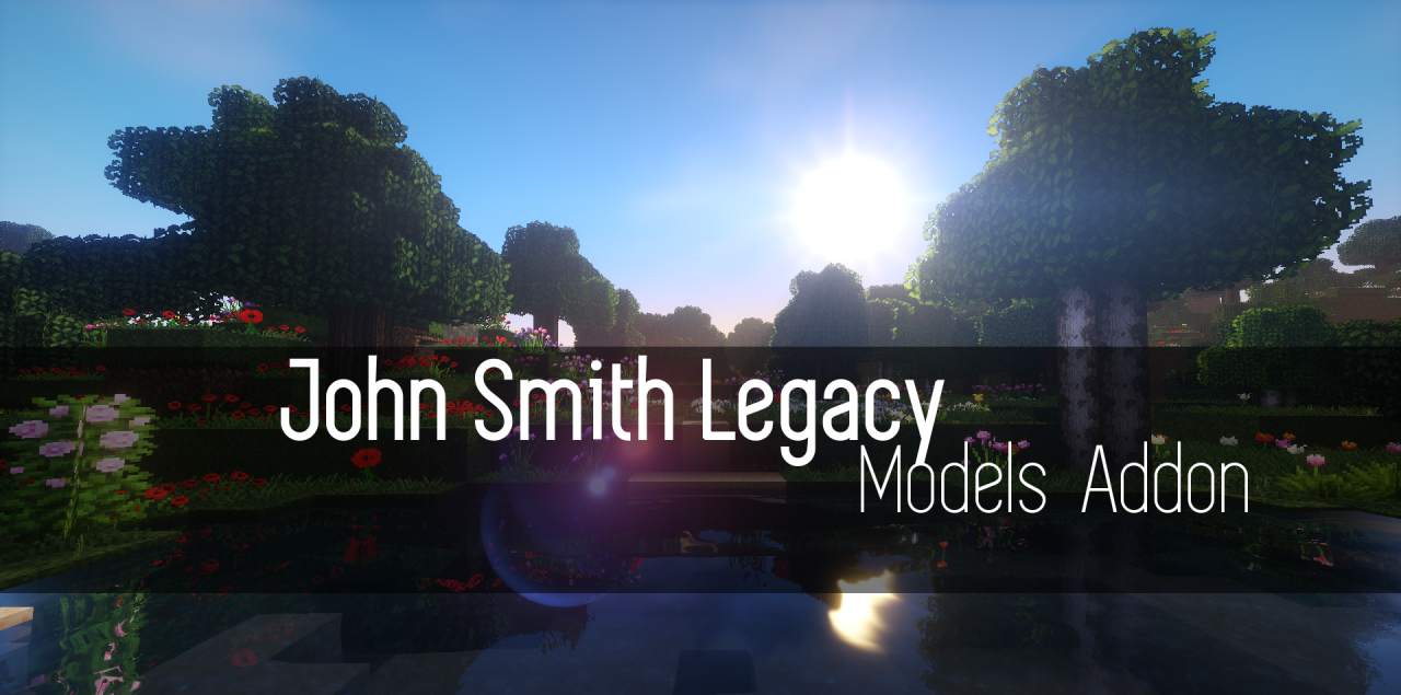 Текстуры John Smith Legacy Models Addon 1.13