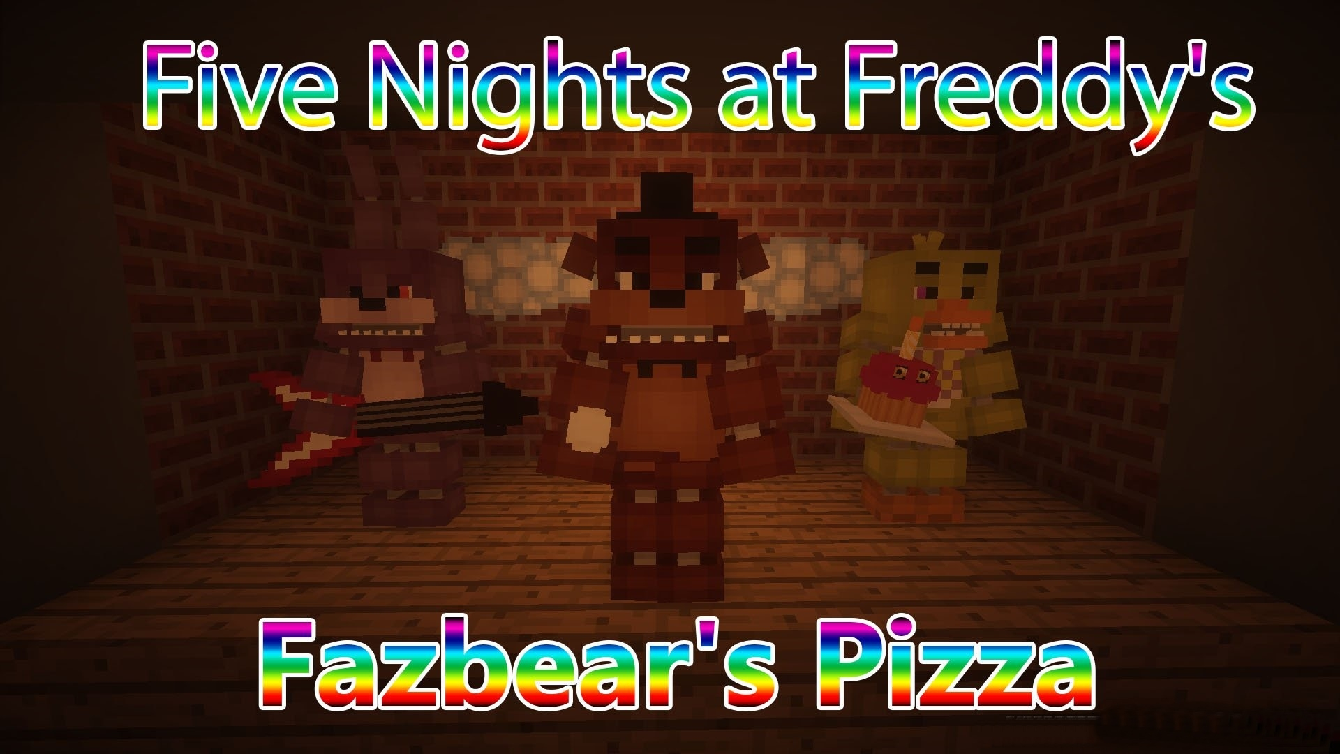 Карта Five Nights At Freddy's 1.5