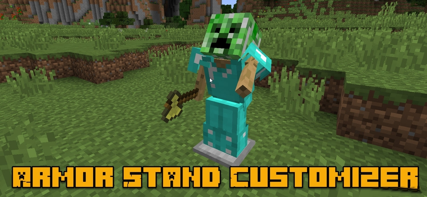Мод Armor Stand Customizer 1.13