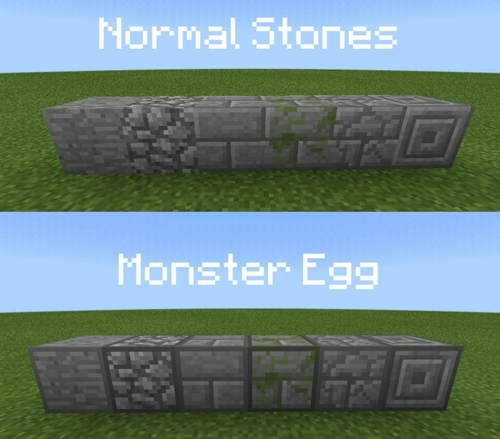 Текстур пак Monster Egg Distinguisher 1.7