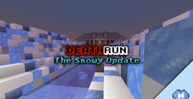 Карта DeathRun: The Snowy Update [Мини-Игра] 1.8