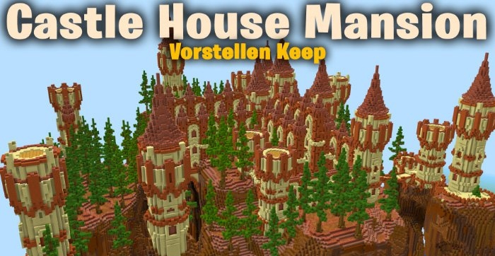 Карта SG Castle House Mansion – Vorstellen Keep [Творчество] 1.8