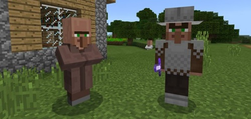 Мод Guard Villager 1.8