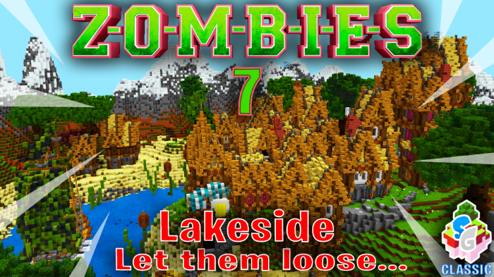 Карта SG Zombies 7 – Lakeside [Мини-игра] 1.8