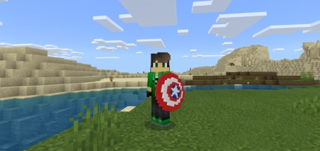 Мод Cap's Shield 1.10+