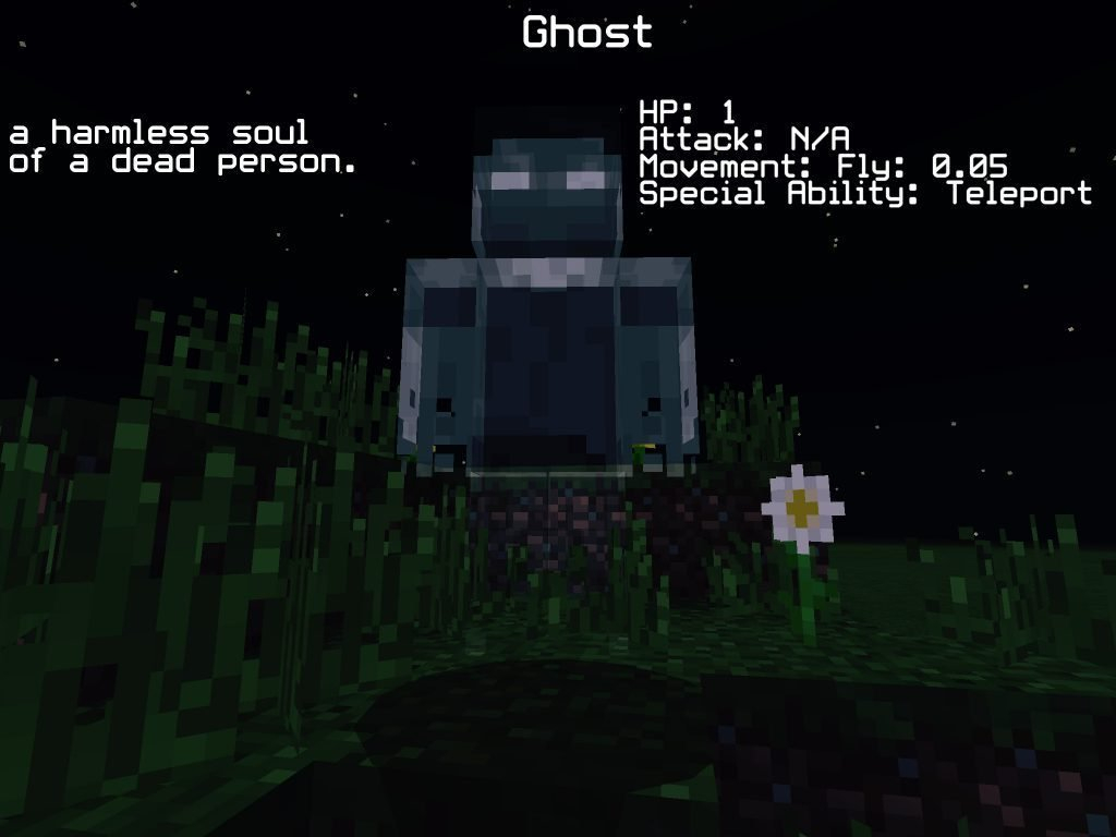 Мод The Ghosts 1.11