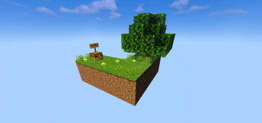 Карта Skyblock with Structures [Выживание] 1.16