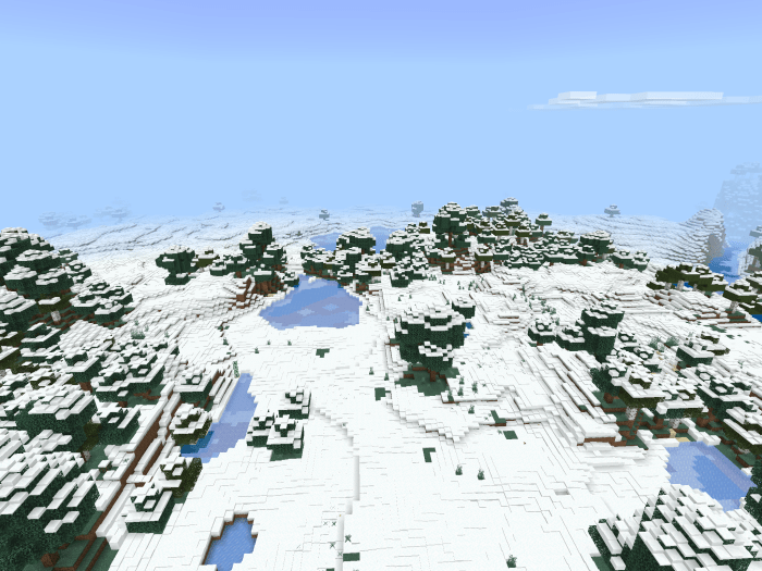 Мод Snowy World v1.0 Public Release 1.16