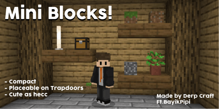 Мод Mini Blocks 1.16